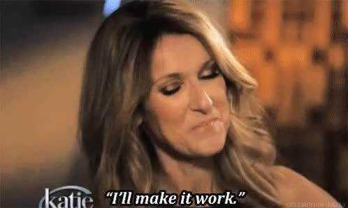 Watch and share Celine Dion Work GIFs on Gfycat
