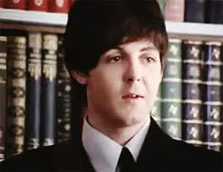 Watch and share Happy Birthday GIFs and Paul Mccartney GIFs on Gfycat