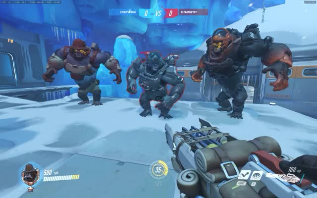 Watch and share Overwatch GIFs and Winston GIFs by ColdVergil on Gfycat