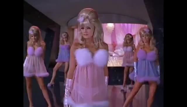 austinpowers, fembots, headscissors, horny, seduction, squeezed, trapped, Trapped in The FEMBOTS' Lair... and loving it! GIFs