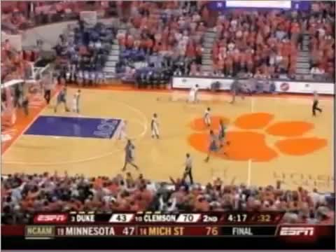 Watch and share Clemson Basketball Classic GIFs by laronp on Gfycat