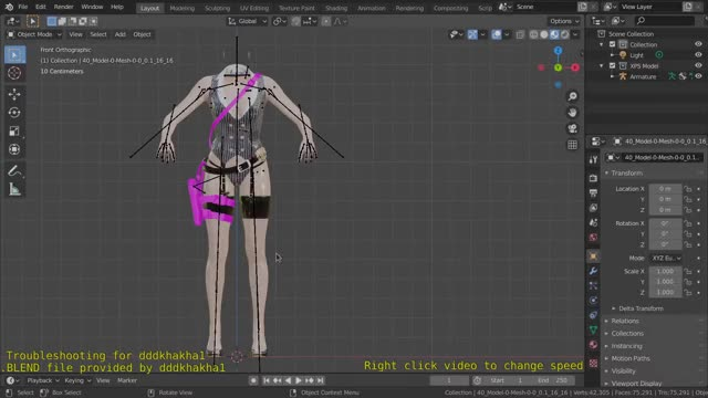 Watch and share Blender - Troubleshooting A Rigged Resident Evil Model GIFs on Gfycat