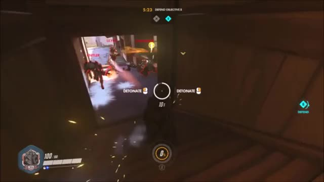 Watch and share Perfectly Timed Reinhardt Shield. GIFs on Gfycat