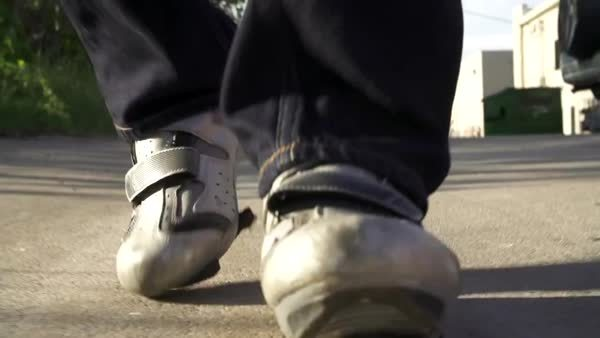 bicycling, These damn cleats! GIFs