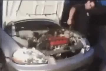 Watch and share Funniest Gifs Car Repair GIFs on Gfycat