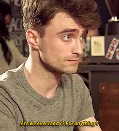 Watch and share She's Truly Lucky GIFs and Daniel Radcliffe GIFs on Gfycat