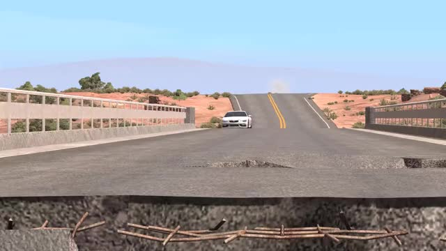 Watch BeamNG.drive Bridge Stopping Stunt GIF by @serzari on Gfycat. Discover more BeamNG, Serzari, Stunt driving GIFs on Gfycat