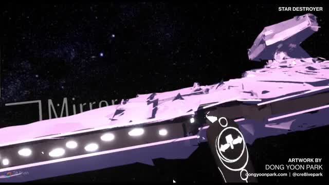 Watch and share Tiltbrush GIFs and Starwars GIFs by Dong Yoon Park on Gfycat