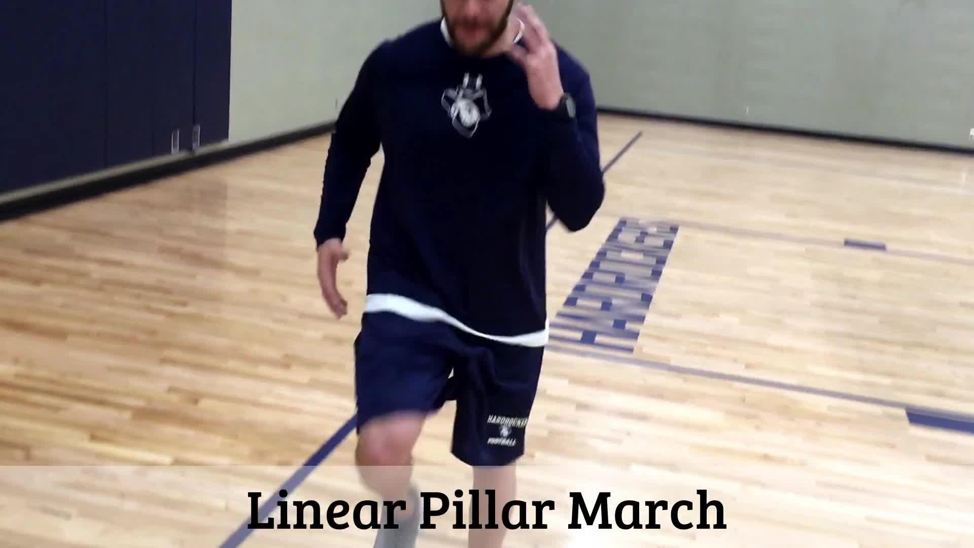 Linear Pillar March GIFs