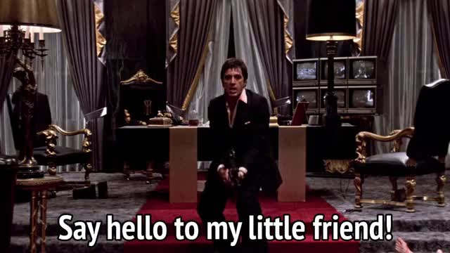 Watch and share Al Pacino GIFs and Explosion GIFs by MikeyMo on Gfycat