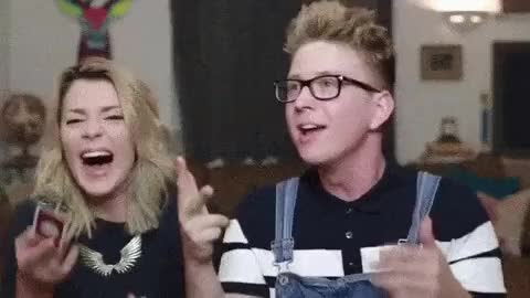 Watch and share Tyler Oakley Gif GIFs and Keep Caught Up GIFs on Gfycat