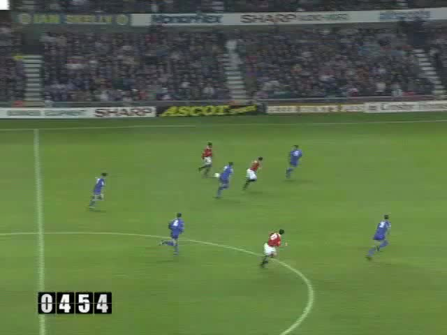 Watch and share 1992-93 18 Hughes GIFs by mu_goals on Gfycat