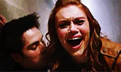 Watch and share Stiles Stilinski GIFs and Lydia Martin GIFs on Gfycat