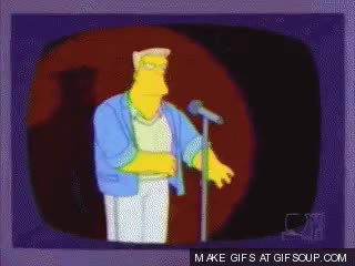 You suck McBain! : TheSimpsons GIFs