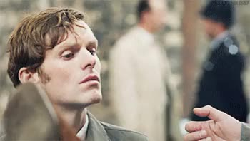 Watch Show Me Your Brave Heart GIF on Gfycat. Discover more Endeavour, Inspector Morse, Morse, Shaun Evans GIFs on Gfycat
