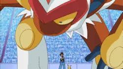 Watch and share Pokemon Ability Blaze Sinnoh Infernape GIFs on Gfycat
