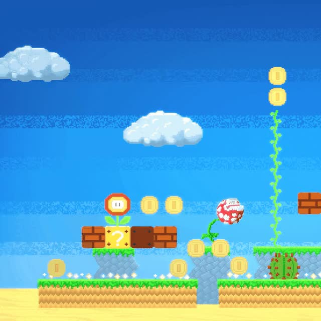 Watch and share Super Mario Fan Art Made In Voxel Max GIFs by Voxel Max on Gfycat
