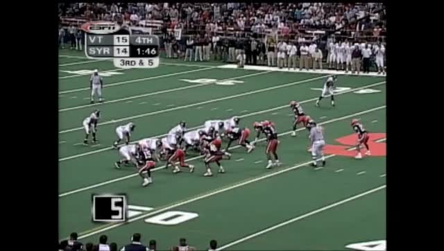 Watch Michael Vick TD run vs. Syracuse 2000 GIF on Gfycat. Discover more hokies, syracuse, virginia tech GIFs on Gfycat