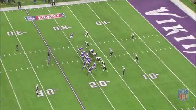 Watch and share Vikings-Saints Diggs TD 1 GIFs by whirledworld on Gfycat