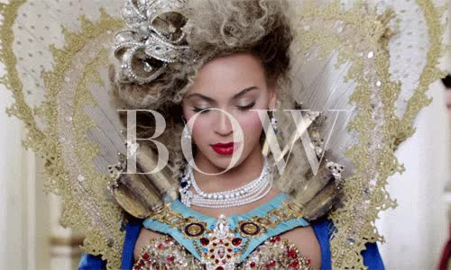 Watch and share Beyonce Bow GIFs on Gfycat