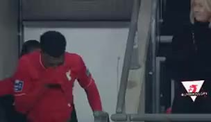 Watch Daniel Sturridge crying GIF on Gfycat. Discover more related GIFs on Gfycat