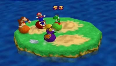 Watch and share Mario Party 2 Mini Games - Bumper Balls Stage 3 GIFs on Gfycat