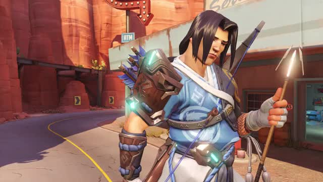 Watch and share Overwatch GIFs and Hanzo GIFs by welshtralian on Gfycat