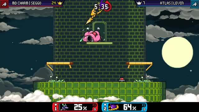 "Watch and share Ranno F-air ""Nerfs"" GIFs by Levin on Gfycat"
