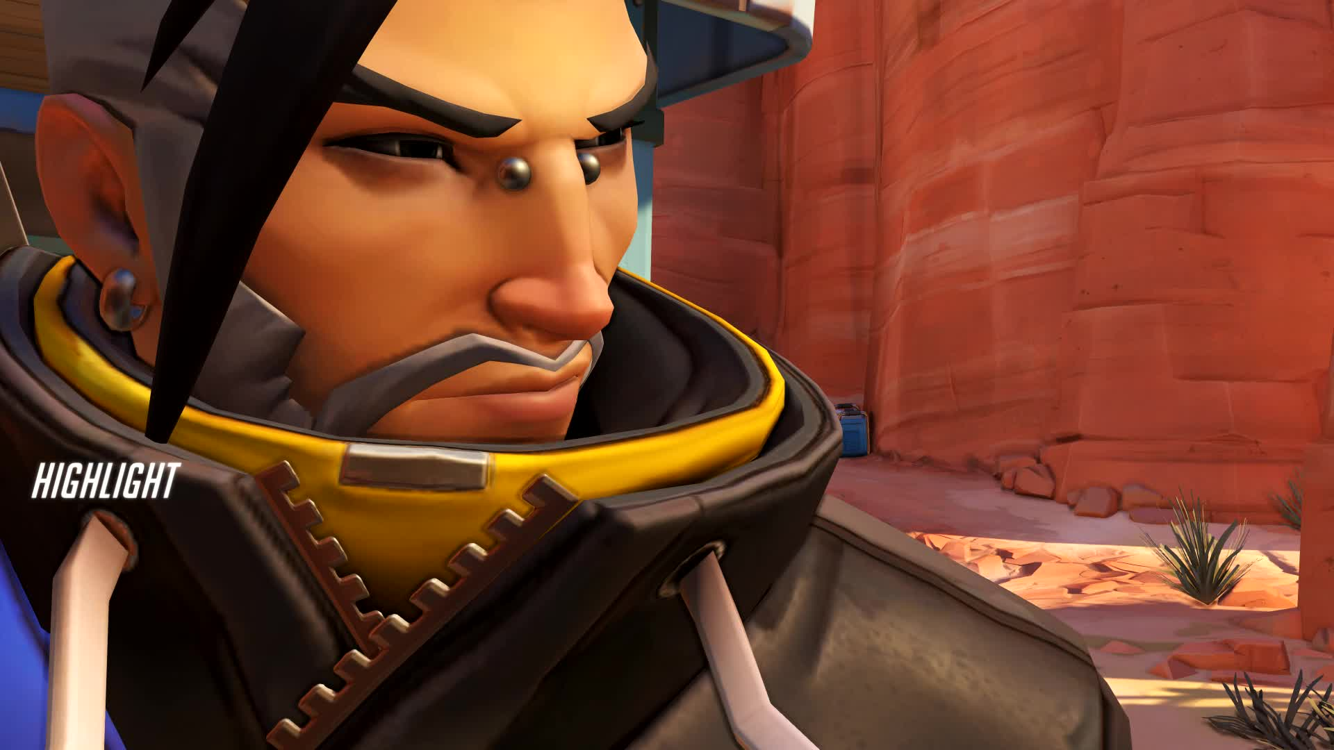 hanzo, overwatch, the only hanzo highlight i will ever have GIFs