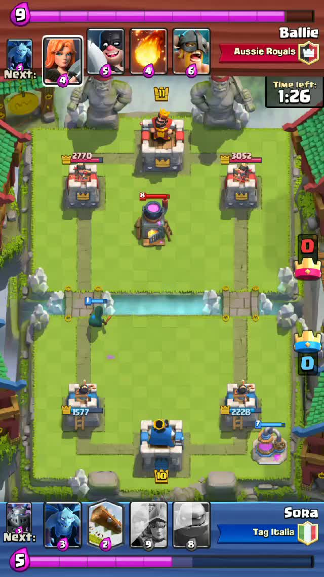 Watch and share Clashroyale GIFs by soraroxas on Gfycat