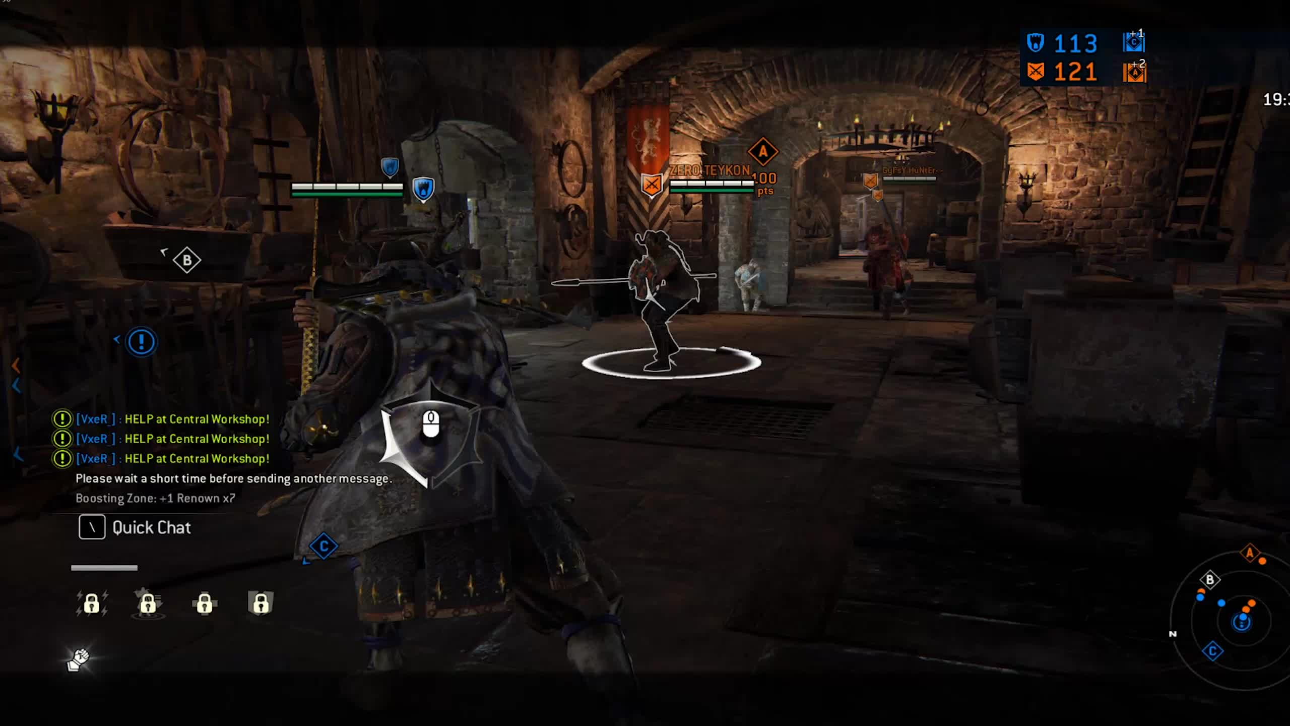 for honor gank GIFs
