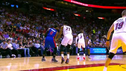 Watch and share Andre Drummond, Detroit Pistons GIFs by Off-Hand on Gfycat