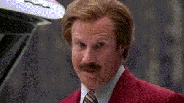 Watch and share Ron Burgundy GIFs and Head Nod GIFs on Gfycat