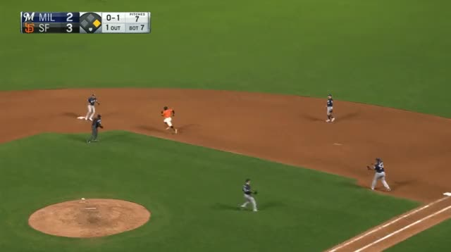 Watch and share Milwaukee Brewers GIFs and Baseball GIFs by _ben_clemens on Gfycat