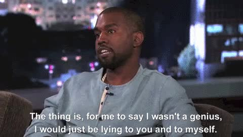 Watch and share Kanye West GIFs and Lying GIFs by Reactions on Gfycat