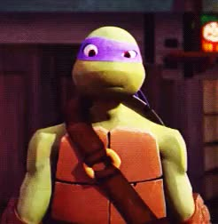 Watch and share Donatello GIFs and Graphics GIFs on Gfycat