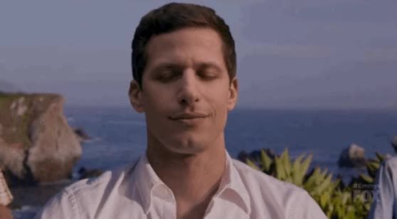 Watch this zen GIF on Gfycat. Discover more andy samberg, meditation, relax, yoga, zen GIFs on Gfycat