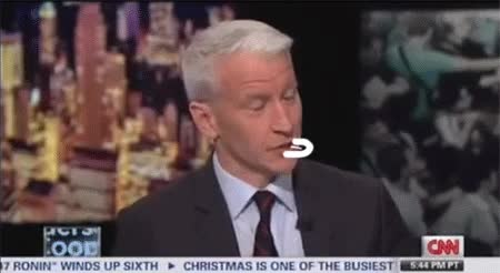 Watch and share Anderson Cooper Talks Mom Gloria Vanderbilt Cunnilingus Stories 3 GIFs on Gfycat