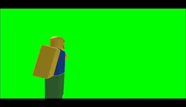 Watch and share Green Screen Roblox Noob GIFs on Gfycat