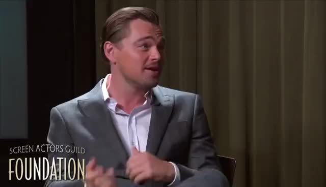 leonardo dicaprio, Conversations with Leonardo DiCaprio GIFs