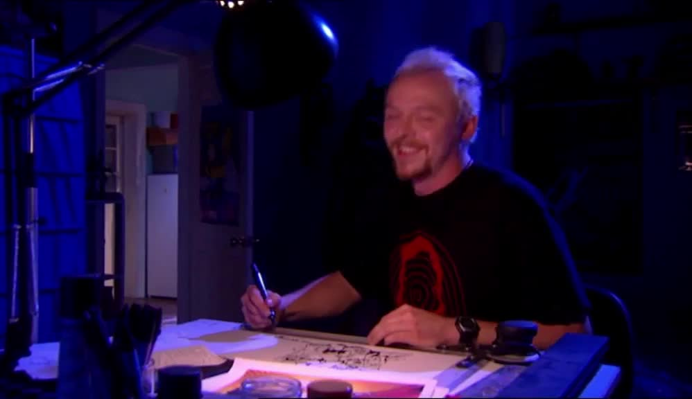 episode 2.1, happy, simon pegg, spaced, thumb up, thumbs up, Thumb up GIFs