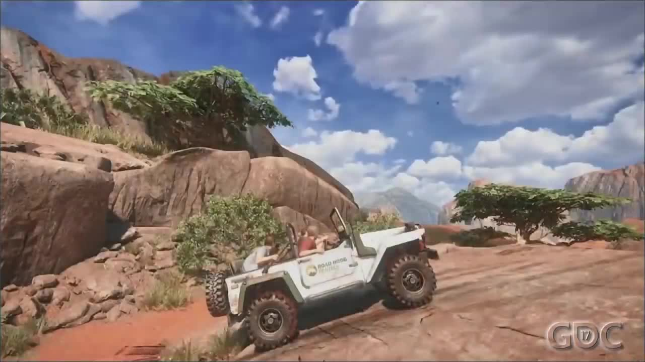 design, development, game, games, gaming, gdc, hd, panel, talk, uncharted 4, The Science of Off-Roading: Uncharted 4's 4x4 GIFs