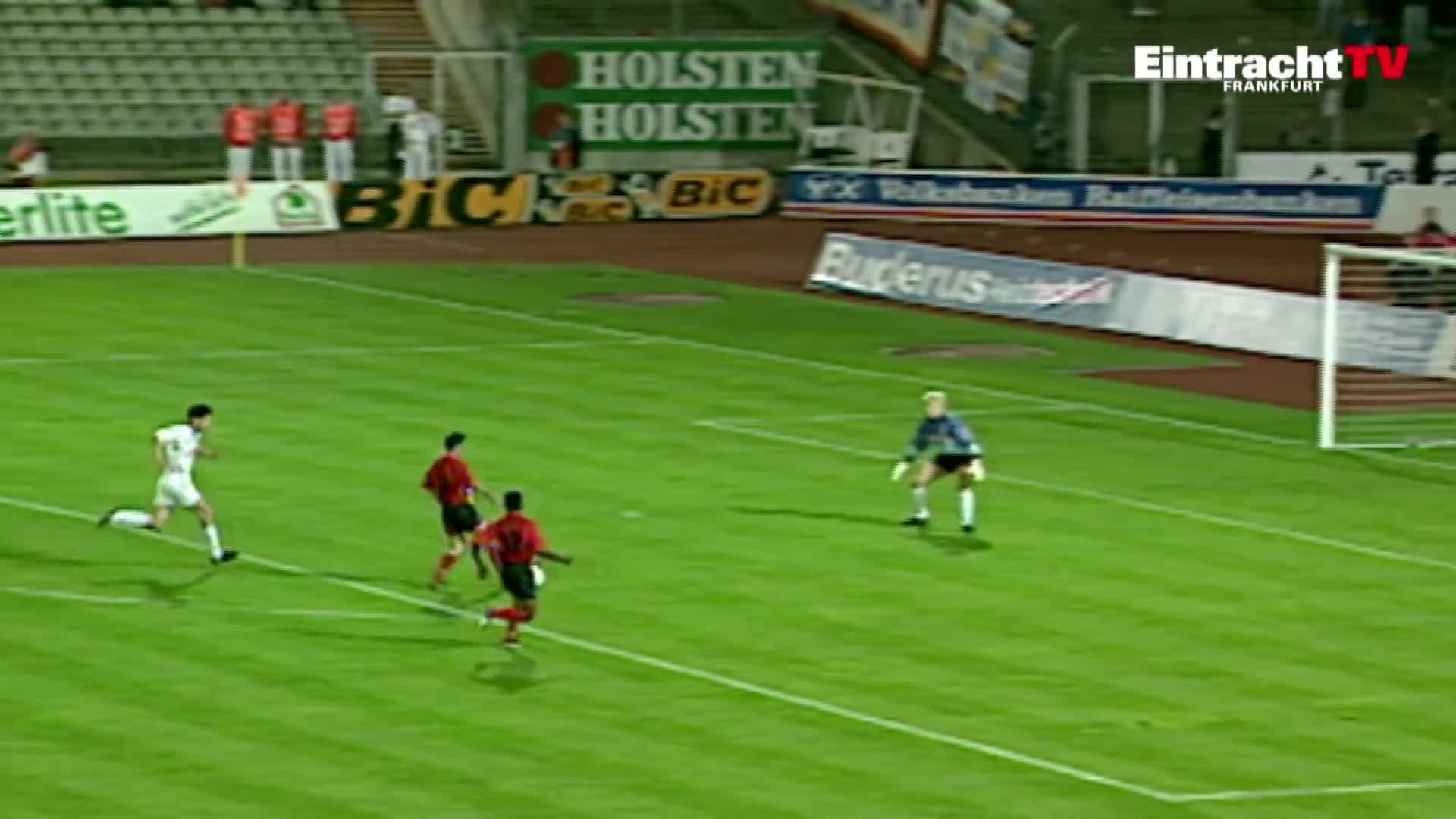 Adler, Eintracht, Eintracht Frankfurt, Frankfurt, SGE, football, fussball, official, offiziell, soccer, TBT | Okocha-Jahrhunderttor 1993 | Eintracht - Karlsruhe GIFs
