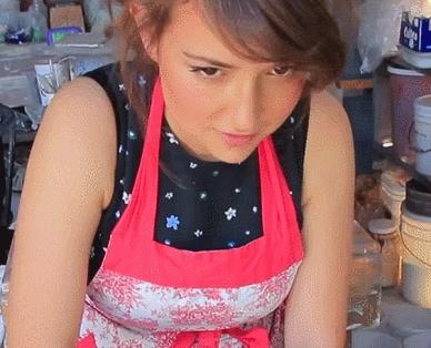Milana Vayntrub, hot_women_gifs, milanavayntrub, Milana Vayntrub [OC] (reddit) GIFs
