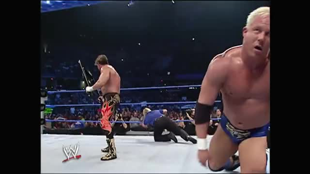 Watch the chair GIF on Gfycat. Discover more Eddie Guerrero, Guerrero, Ken Kennedy, Latino Heat, Mr. Kennedy, SD, SmackDown, Today in History, Today in WWE History, WWE GIFs on Gfycat