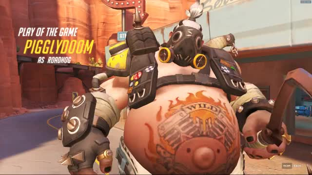 Watch and share Overwatch GIFs and Roadhog GIFs on Gfycat