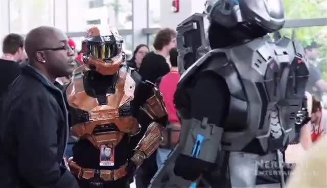 Cosplay, Denver Comic Con, Halo, Grif Gif 5 GIFs