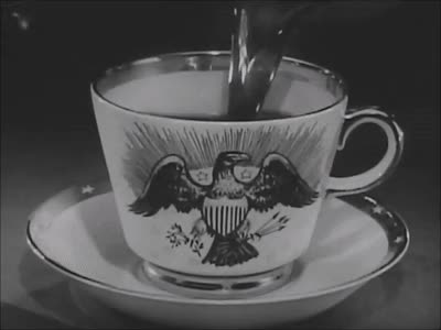 Watch Coffee Eagle: Via Maxwell House Ad (1950s) Marc Rodriguez GIF by Marc Rodriguez (@marcrodriguez) on Gfycat. Discover more ad, black and white, breakfast, coffee, coffee cup, drink, eagle, fresh, hot coffee, marc rodriguez, pour, tasty, vintage GIFs on Gfycat