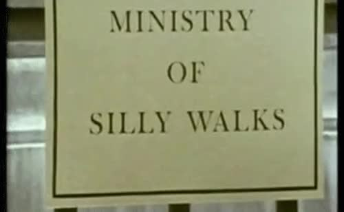 Watch and share The Ministry Of Silly Walks GIFs on Gfycat