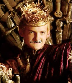 Watch and share Joffrey Lannister GIFs on Gfycat